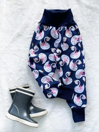 Nohavice softshellové zateplené Labute Kiwi