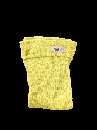 Pančuchy bez trakov žlté Mile