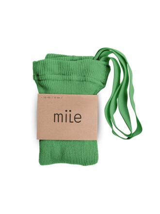 Pančuchy s trakmi hráškové Mile
