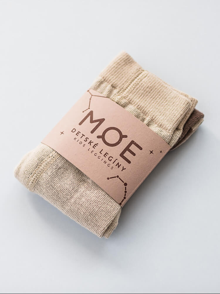 Legíny Caffe-latte Moe