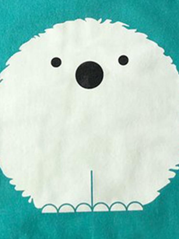 Mikina svietiaca Ľadový medvedík Lemur