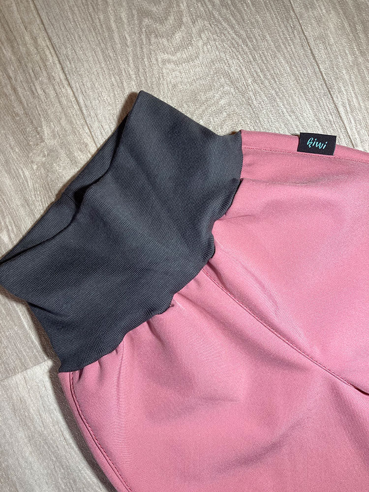 Nohavice softshellové zateplené staroružové Kiwi