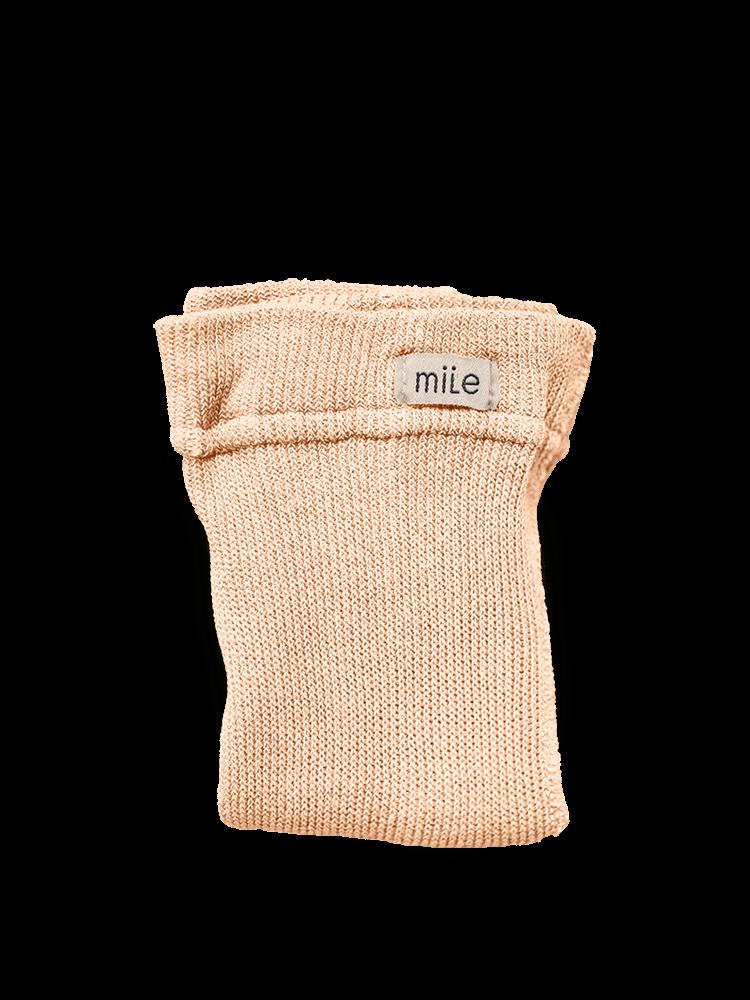 Pančuchy bez trakov broskyňové Mile