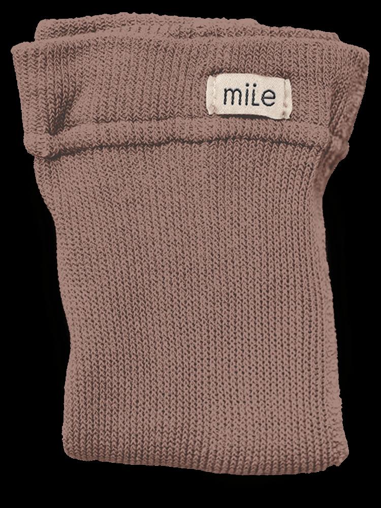 Pančuchy bez trakov orieškové Mile