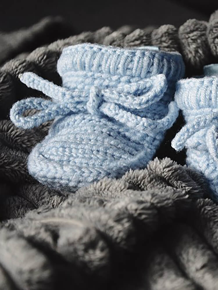 Papučky Classic so šnúrkami baby blue Withloveboots
