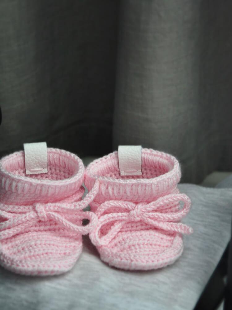 Papučky Classic so šnúrkami baby pink Withloveboots