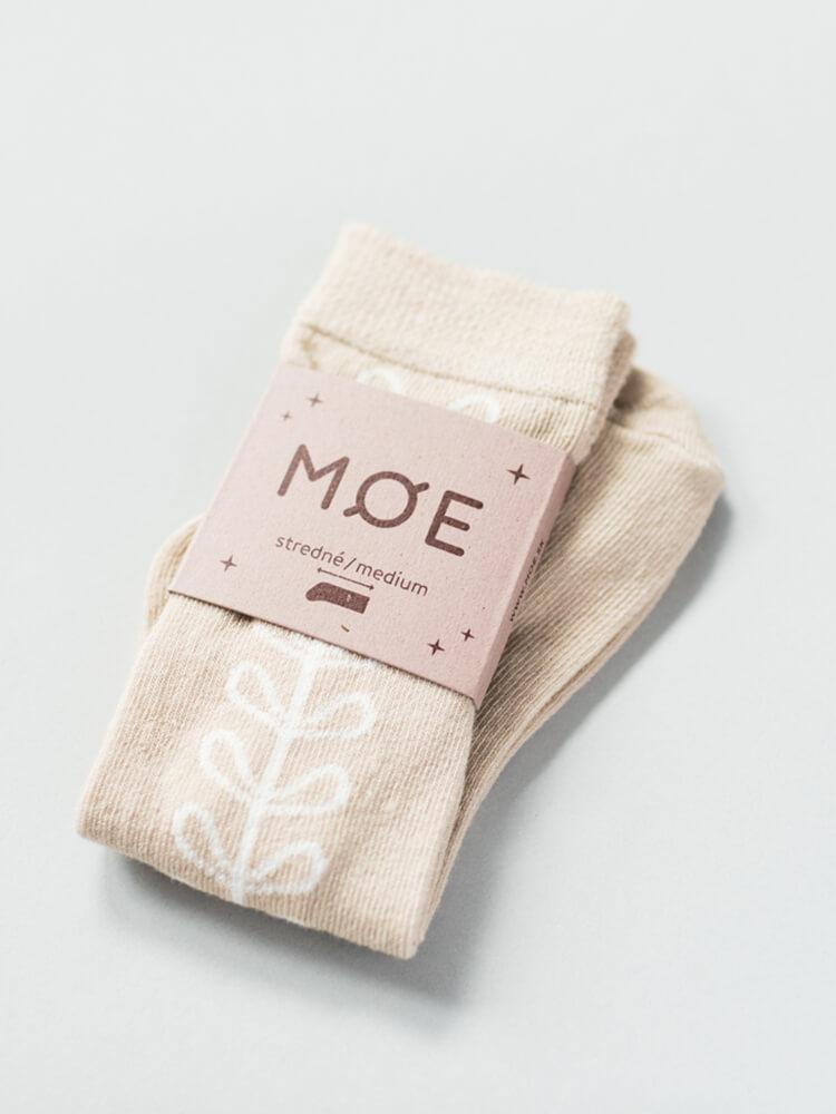 Podkolienky Lístky Moe