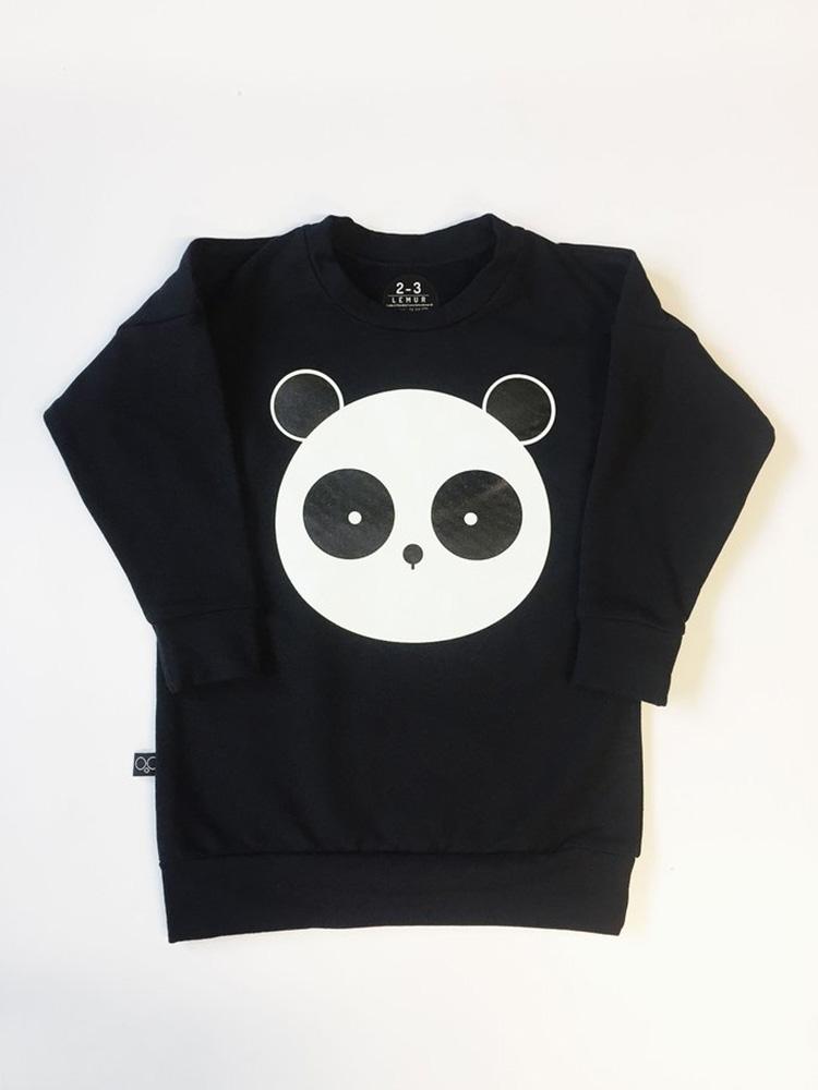 Mikina svietiaca Panda Lemur