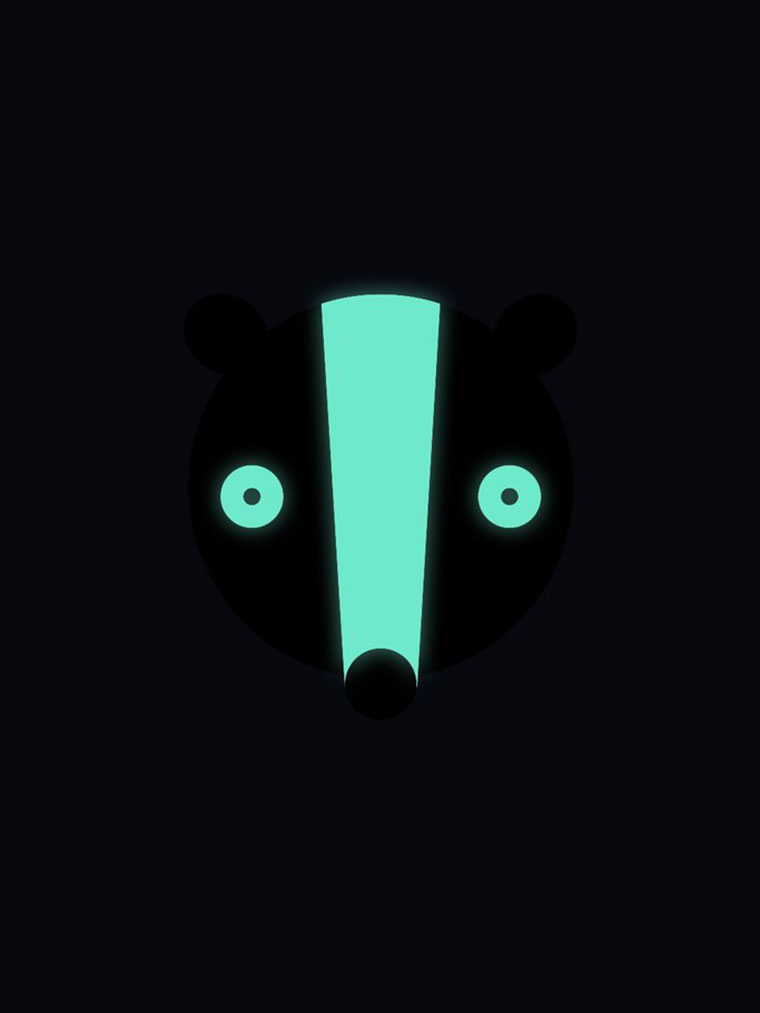 Mikinošaty svietiace Skunk Lemur
