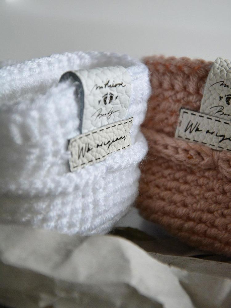 Papučky Classic PomPom biele Withloveboots