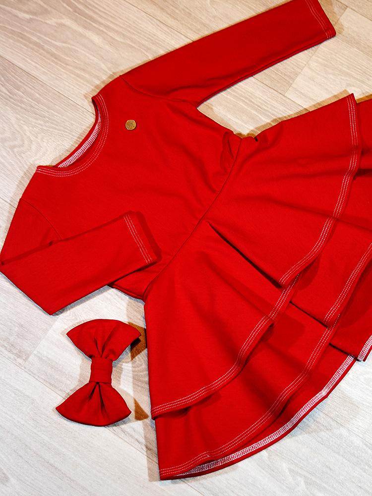 Šaty Adelka červené Hole