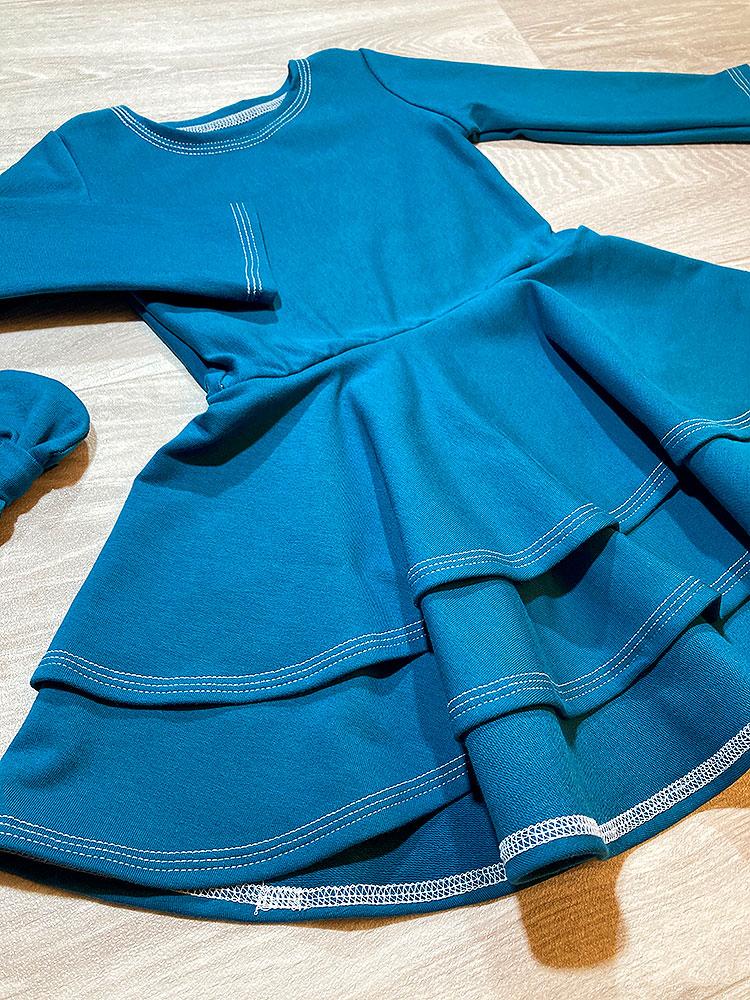 Šaty Adelka smaragdové Hole