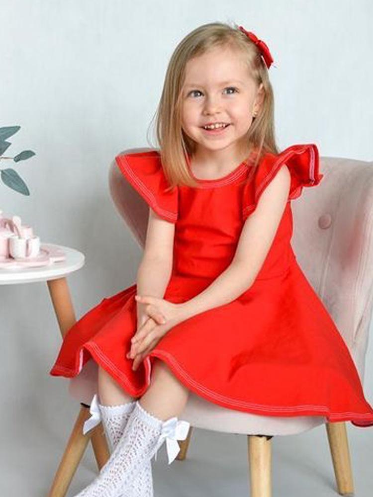 Šaty Barborka červené Hole