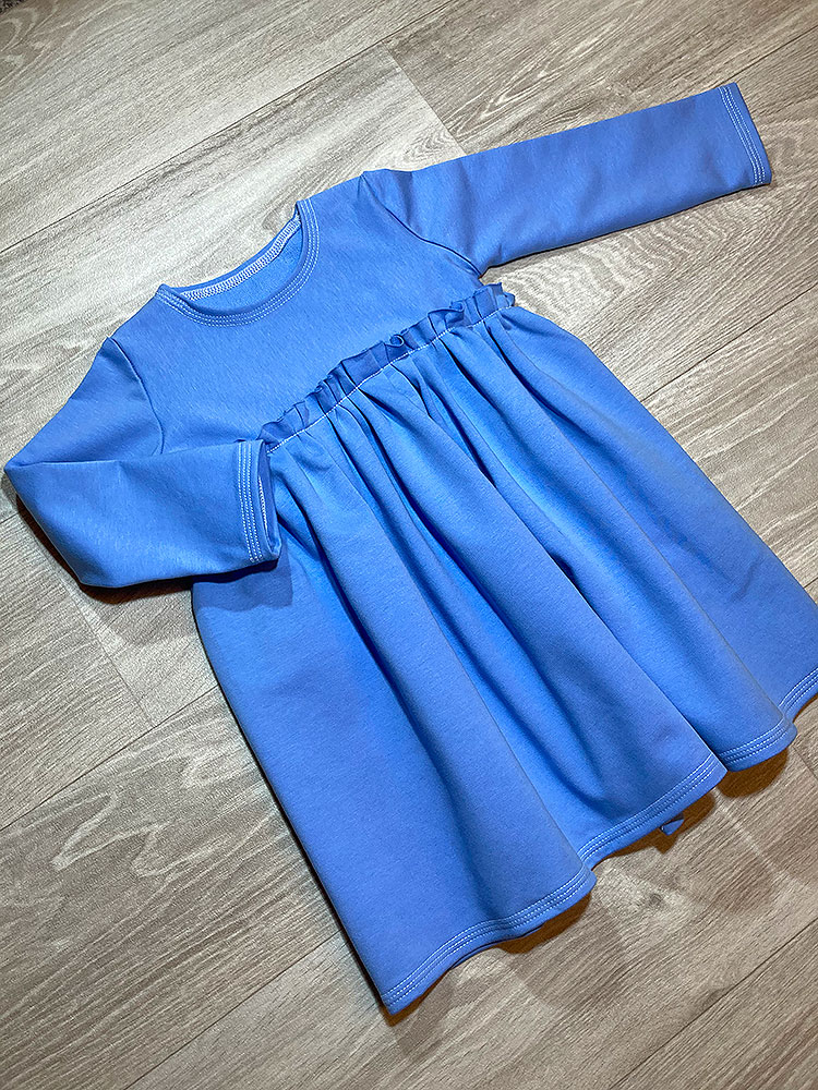 Šaty Ela modré Hole