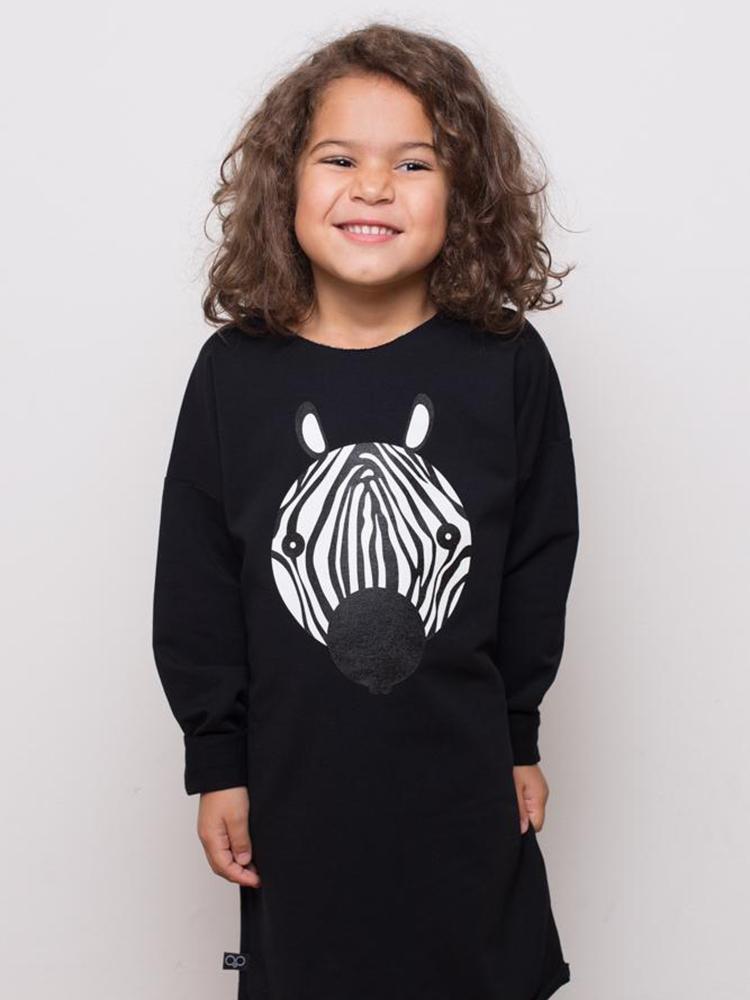 Šaty svietiace Zebra Lemur